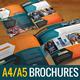 Tech Bi-fold Corporate Brochures - GraphicRiver Item for Sale