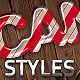 6 Sweet Photoshop Layer Styles - GraphicRiver Item for Sale