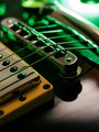 Electric guitar strings and bridge macro - PhotoDune Item for Sale