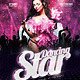 Flyer Dancing Star - GraphicRiver Item for Sale