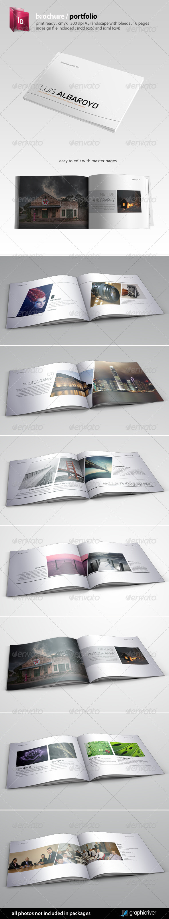 Indesign Brochure / Portfolio Template by semutireng | GraphicRiver