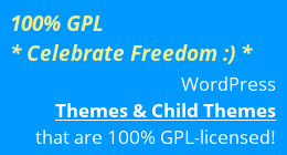 100% GPL WordPress Themes
