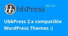 bbPress Compatible Themes