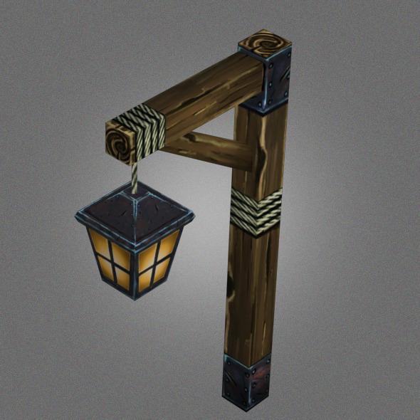 Low Poly Lantern_1