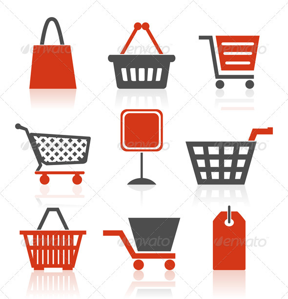 Icon sale - Commercial / Shopping Conceptual