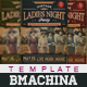 Vintage Ladies Night Poster - GraphicRiver Item for Sale