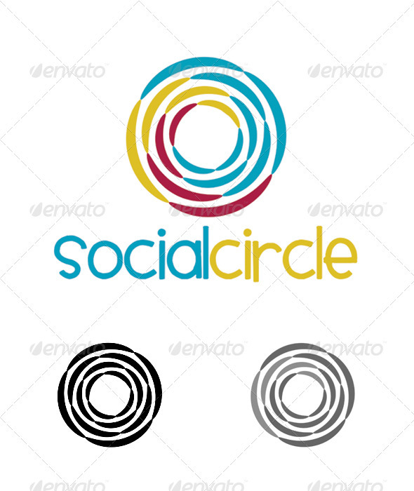 Social Networking Or Community Logo - Abstract Logo Templates