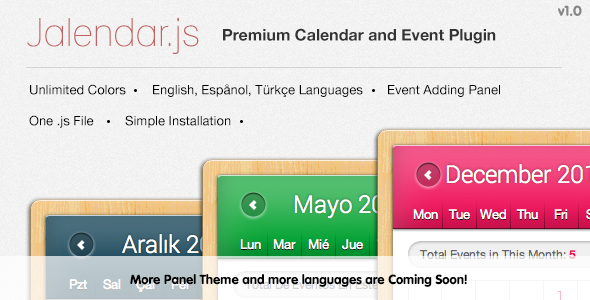 Jalendar - Premium Calendar and Events Plugin