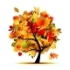 Autumn Tree for your Design - GraphicRiver Item for Sale