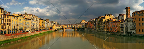 Panorama of Florence. - Stock Photo - Images