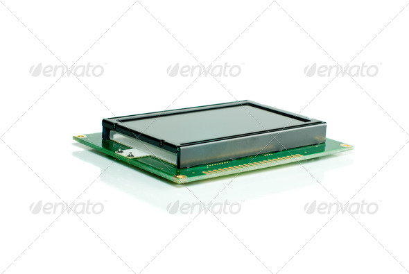 Liquid crystal display module - Stock Photo - Images