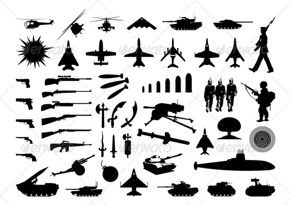 Military collection - Man-made Objects Objects