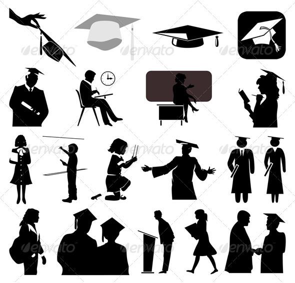 School - People Characters