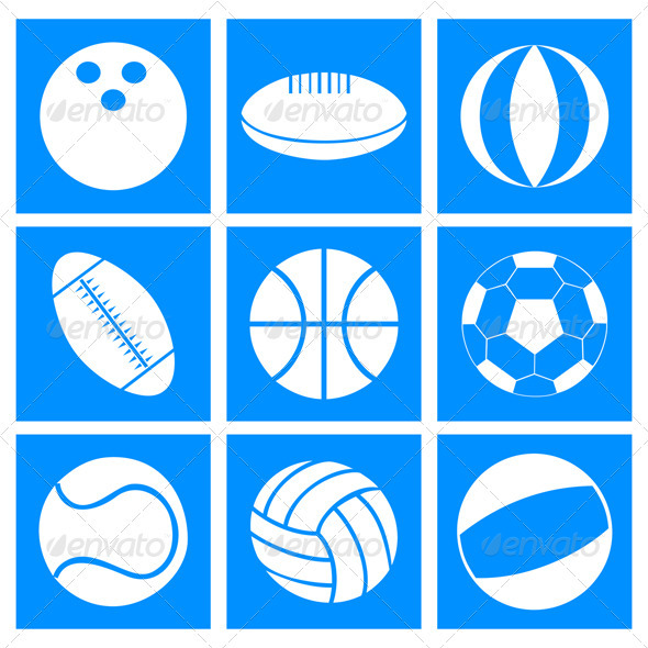 Sports balls - Man-made Objects Objects