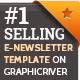 Business Email Newsletter Template - GraphicRiver Item for Sale