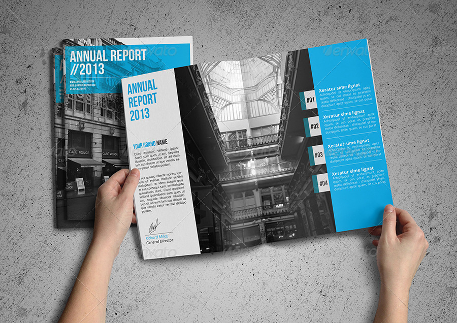 Annual Report Template By Realstar Graphicriver .  Annual Reports Templates