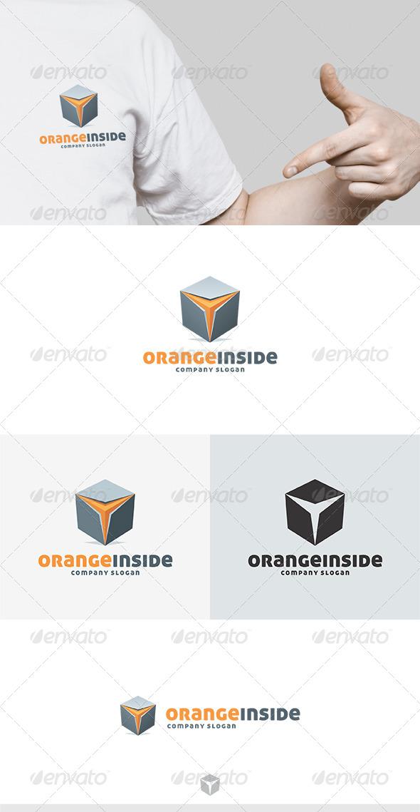Orange Inside Logo - Abstract Logo Templates