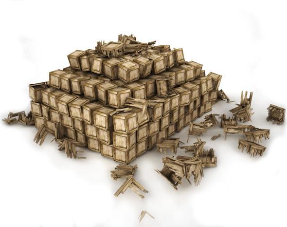 Box Stacks - 3DOcean Item for Sale