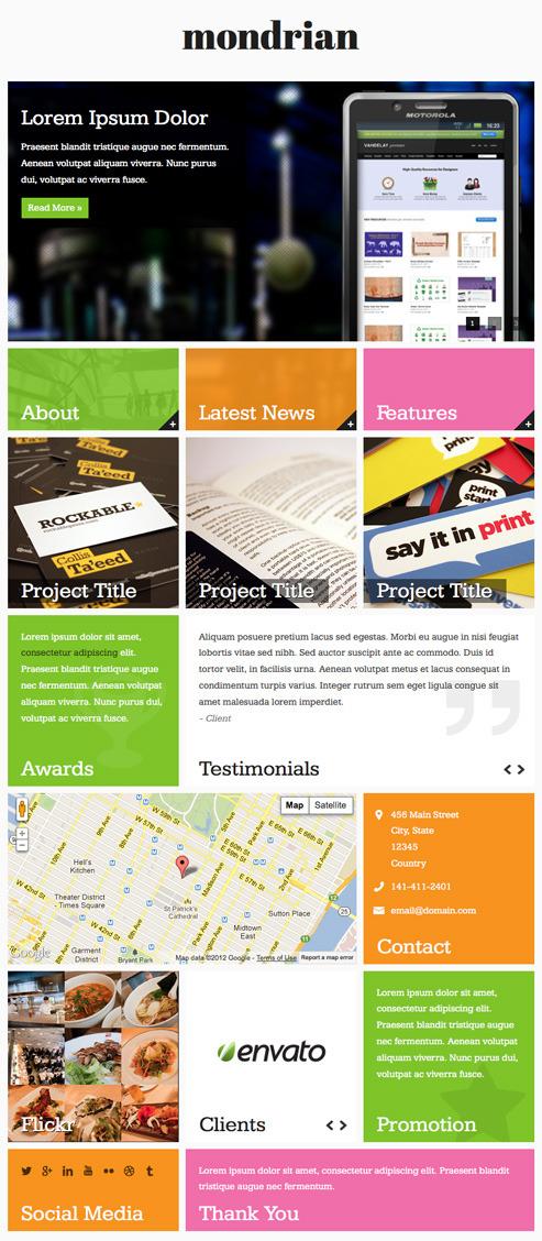 Mondrian Html Css Facebook Template Marketing Corporate Preview Jpg Screenshot1