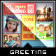 Stitched Love- Holiday Greeting Photo Collage Card - GraphicRiver Item for Sale