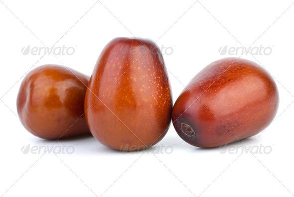 Three unabi berries - Stock Photo - Images