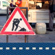 Working on Sidewalk - VideoHive Item for Sale