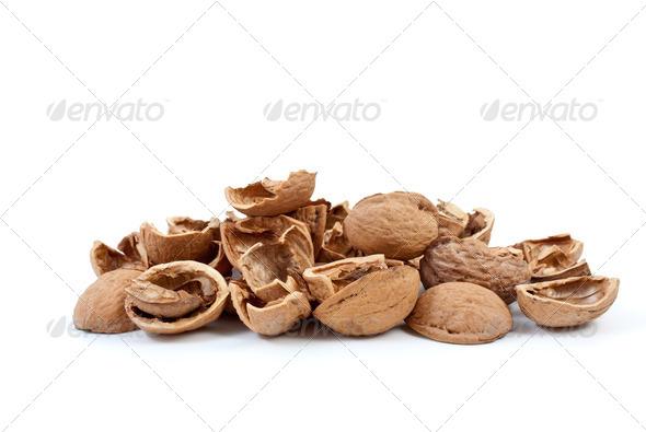 Nutshells - Stock Photo - Images