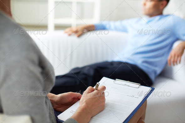 Psychological consultation - Stock Photo - Images
