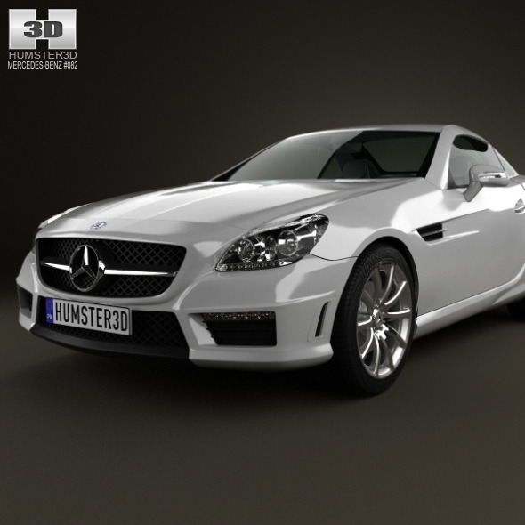 Mercedes-Benz SLK-class 55 AMG 2012 By Humster3d