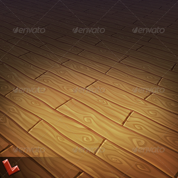 Wooden Floor Tile 02 - 3DOcean Item for Sale