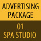 Spa Studio Advertising Package 01