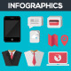 Infographic Elements with UI Set Components - GraphicRiver Item for Sale