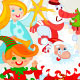 Santa claus and friends - GraphicRiver Item for Sale