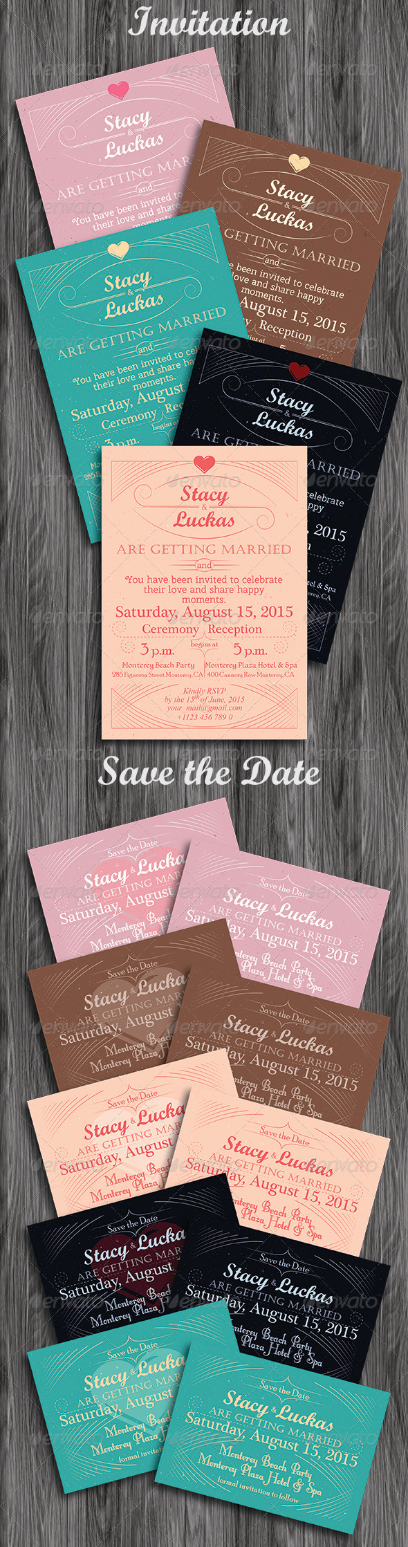 Invitation and Save the Date Cards