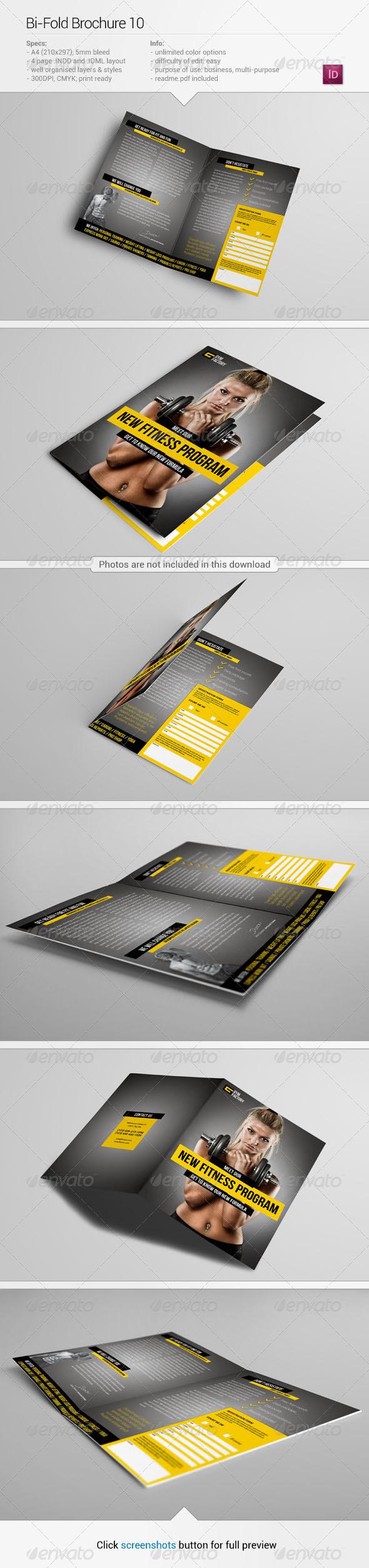 Bi-Fold Brochure 10 - Informational Brochures