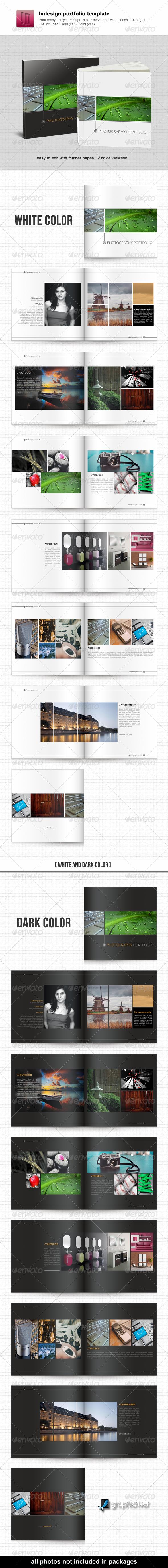 Indesign Portfolio Template by kartodarim | GraphicRiver