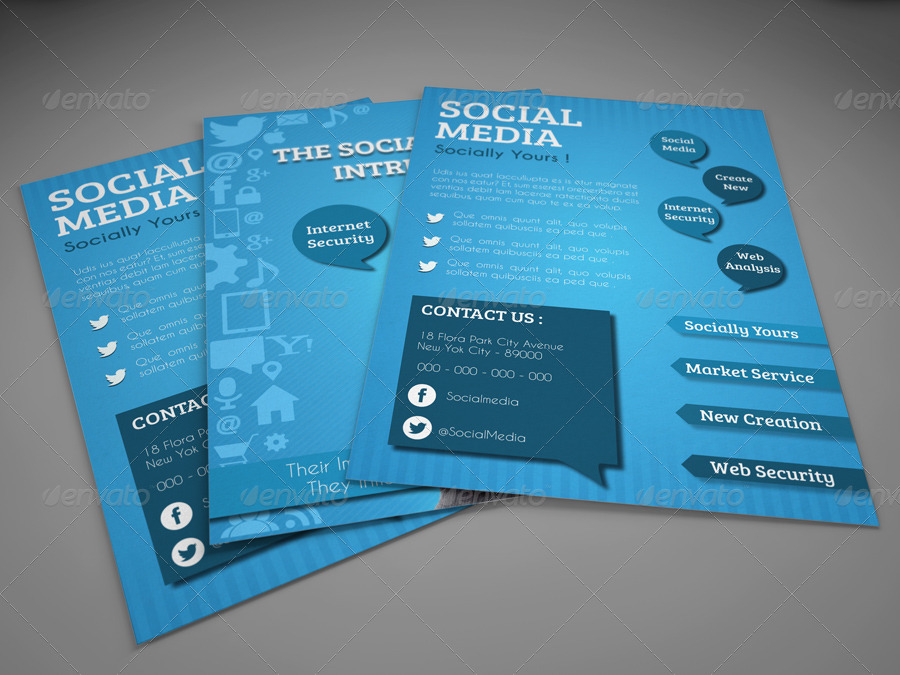 Social Media Flyer Template By Idesignstudionet  Graphicriver