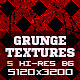 5 Minimal Red Grunge Texture Backgrounds V1 - GraphicRiver Item for Sale