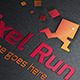 Pixel Run Logo - GraphicRiver Item for Sale