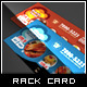 Yummy Tasting Restaurant Rack Card Flyer - GraphicRiver Item for Sale
