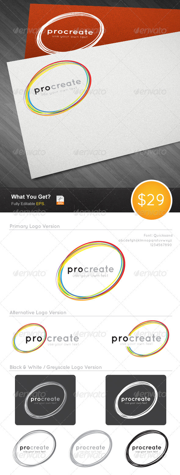 Creative Logo 01 - Abstract Logo Templates