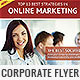 Corporate Flyer Design Template 1 - GraphicRiver Item for Sale