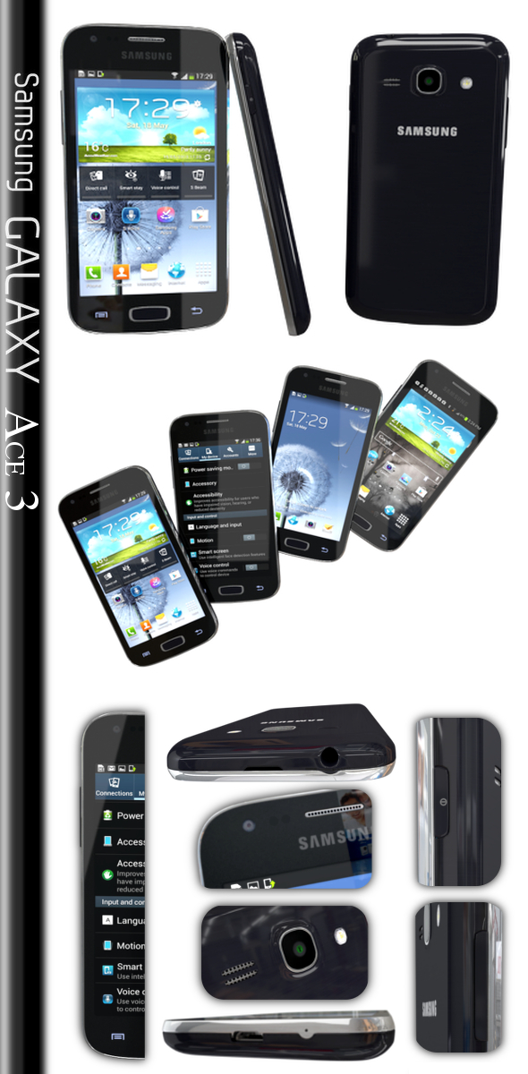 Samsung Galaxy Ace 3 - 3DOcean Item for Sale