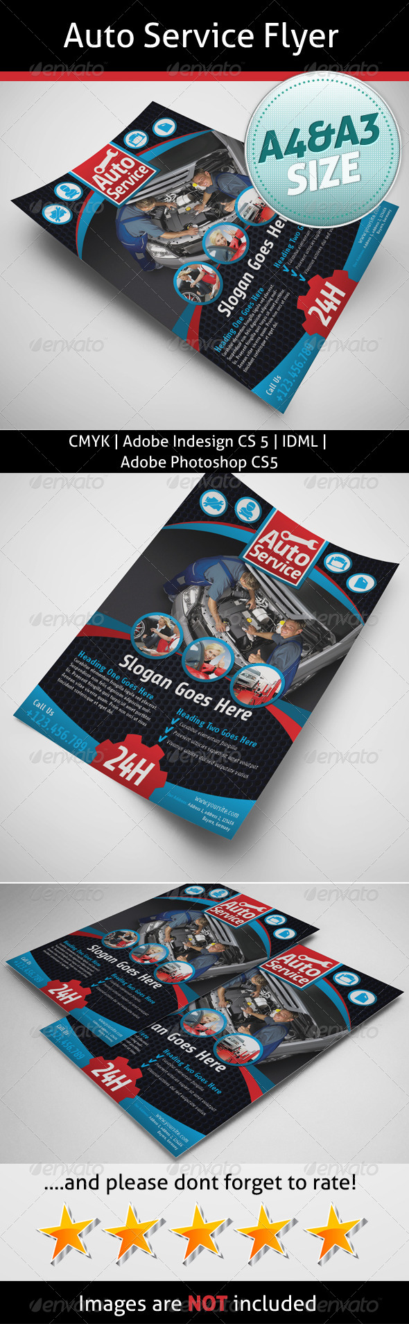 Auto Service Flyer - Commerce Flyers
