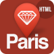 Paris - Responsive HTML5 Template Nulled