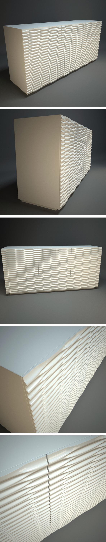 Wave Sideboard - 3DOcean Item for Sale