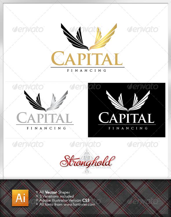 Capital Financial Logo - Crests Logo Templates