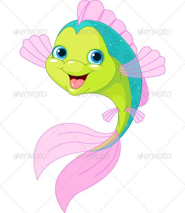 cartoon fish by dazdraperma graphicriver