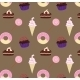 Seamless Sweets Pattern - GraphicRiver Item for Sale