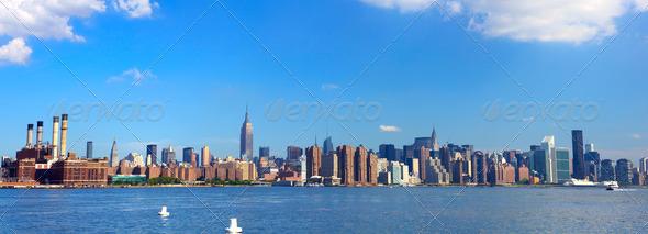 New York panorama - Stock Photo - Images
